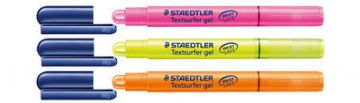 STAEDTLER HIGHLIGHTER GEL CRAYON TEXTSURFER GEL TWIST ACTION NO NEED TO SHARPEN
